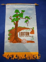Club of Loxton Banner