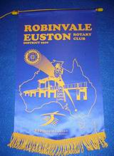 Club of Robinvale Euston Banner