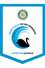 Club of Dee Why Warringah Banner