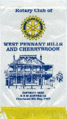 Club of West Pennant Hills and Cherrybrook Banner