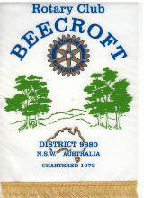 Club of Beecroft Banner